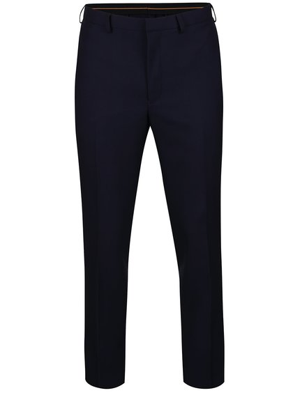 Pantaloni albastru închis Burton Menswear London