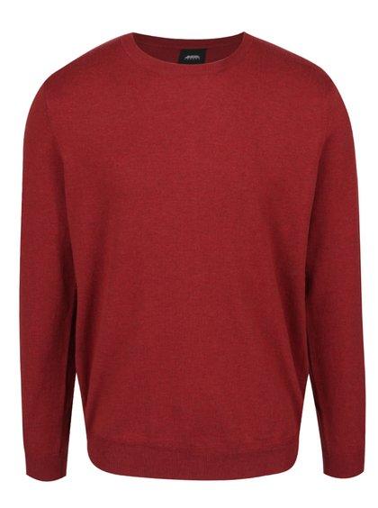 Červený lehký svetr Burton Menswear London