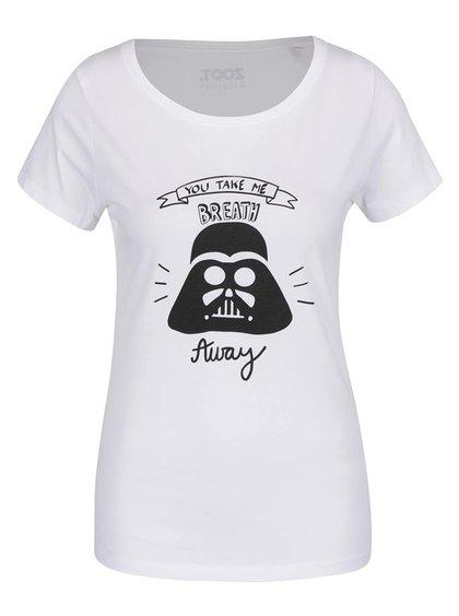 Bílé dámské tričko ZOOT Originál Darthvader
