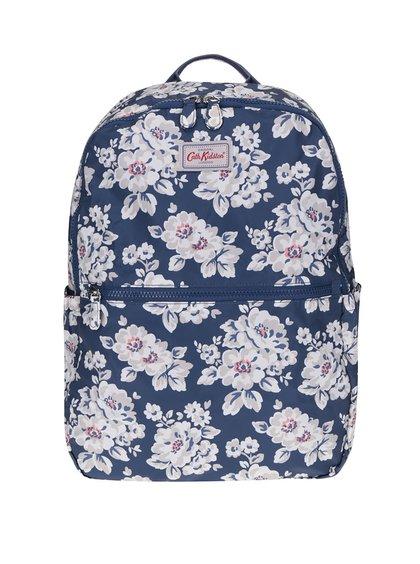 Tmavě modrý květovaný batoh Cath Kidston