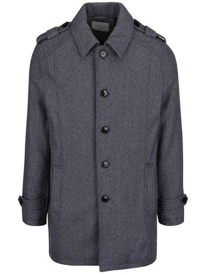 Palton gri închis Selected Homme Geneve