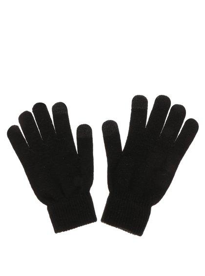 Mânuși negre Pieces New Buddy