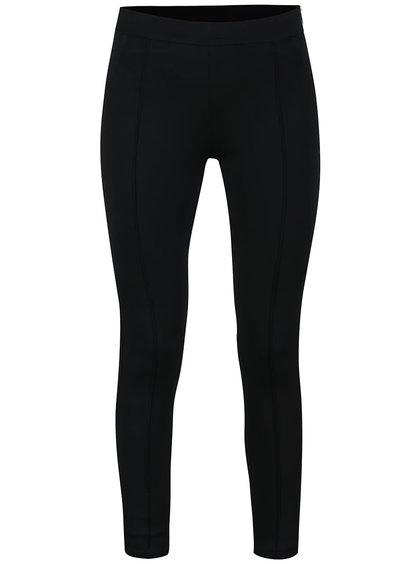 Pantaloni conici mulați negri ONLY Diana