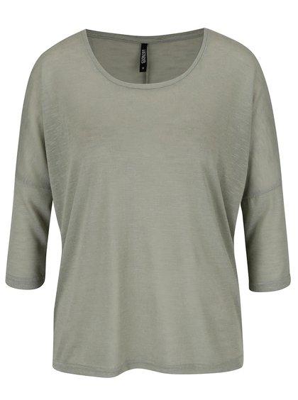 Zelený lehký svetr s 3/4 rukávy Haily´s Laureen