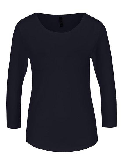 Tmavě modré basic tričko s 3/4 rukávem Haily's Tina