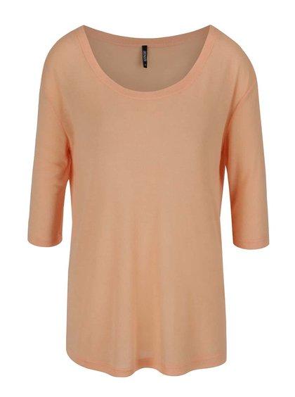 Meruňkové lehké tričko Haily's Mary Solid