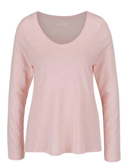 Světle růžové lehké basic tričko Haily's Janne