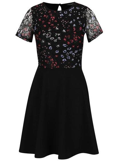 Rochie neagră Dorothy Perkins cu imprimeu