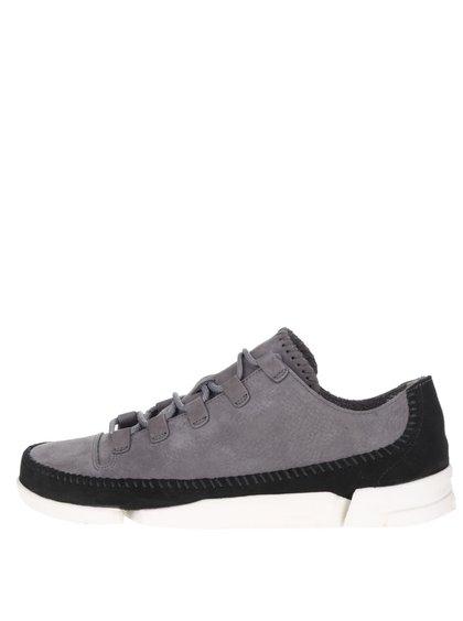 Pantofi sport gri Clarks Trigenicflex