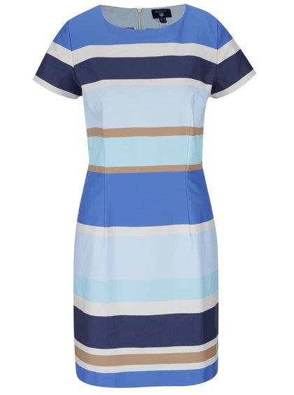 Modré pruhované šaty GANT