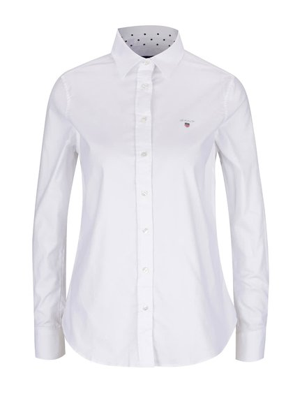 Bílá dámská košile GANT Oxford