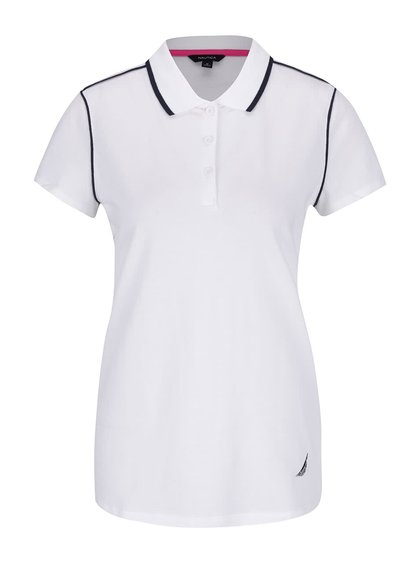 Krémové dámské polo tričko Nautica