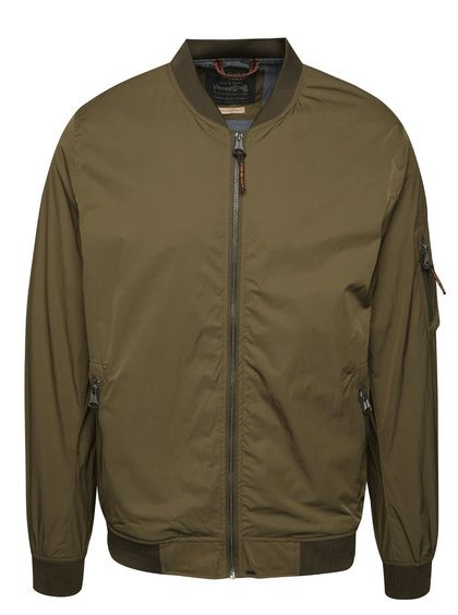 Khaki bomber Jack & Jones Pete