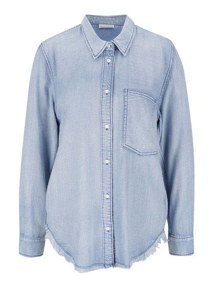 Světle modrá džínová košile Noisy May Alix