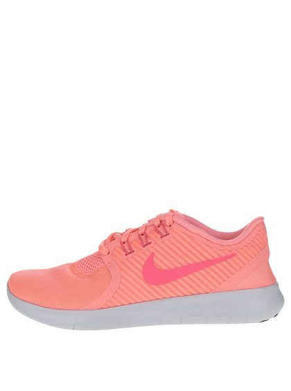 Růžové dámské tenisky Nike Free Commuter