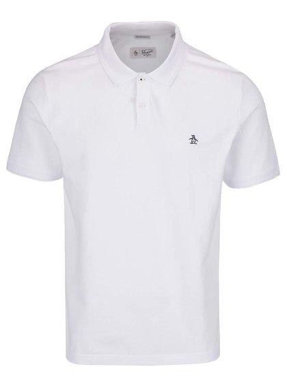 Bílé polo tričko Original Penguin Winston