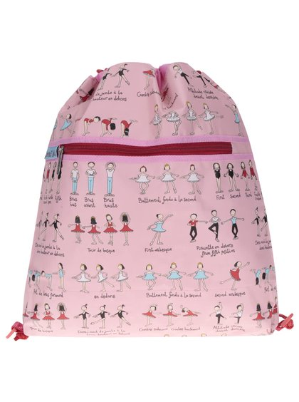 Světle růžový holčičí vak Tyrrell Katz Ballet