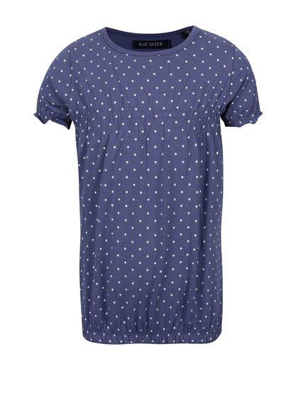 Modré holčičí tričko Blue Seven