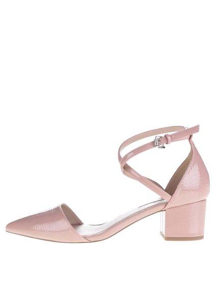Pantofi roz pal Miss KG cu baretă