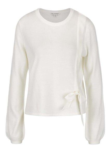 Krémový svetr s mašlí Miss Selfridge