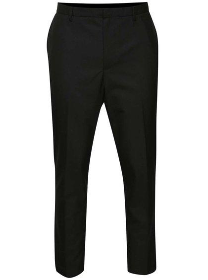 Černé formální slim kalhoty Burton Menswear London