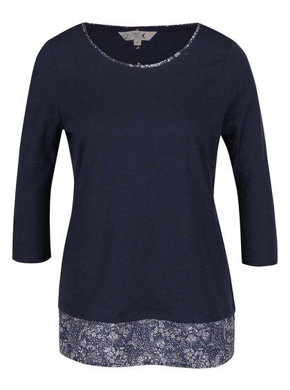 Tmavě modré dámské tričko M&Co