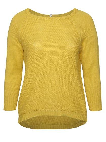 Hořčicový dámský svetr M&Co