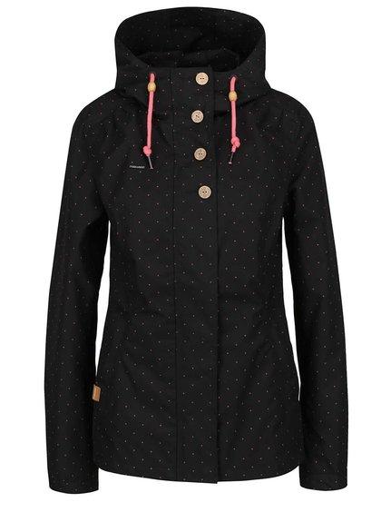Černá dámská bunda Ragwear Lynx Dots