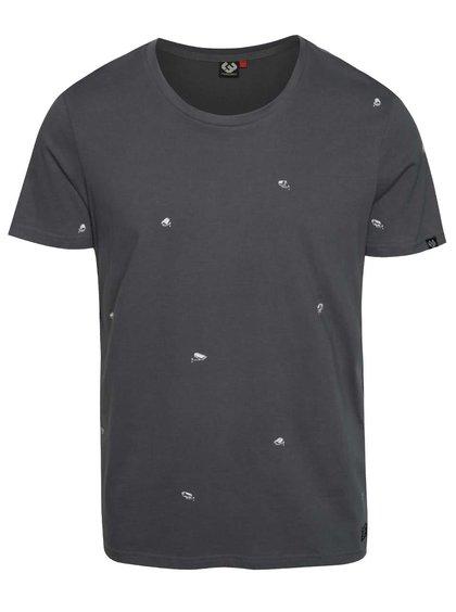 Tmavě šedé pánské triko Ragwear Micha