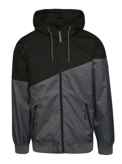 Jachetă negru & gri Ragwear Wings