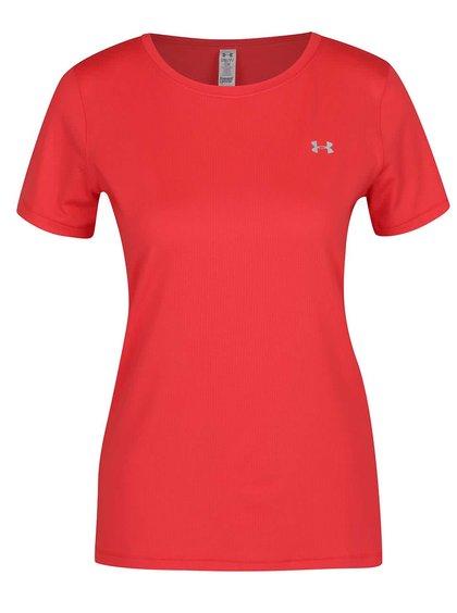 Tricou roșu Under Armour HG Armour SS cu logo