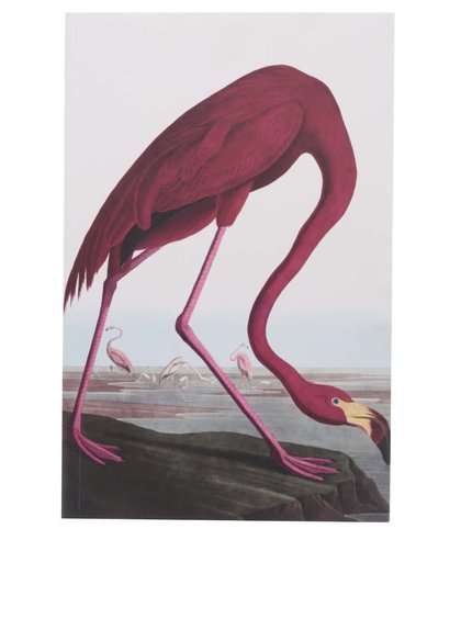 Caiet cu model flamingo Magpie Birds