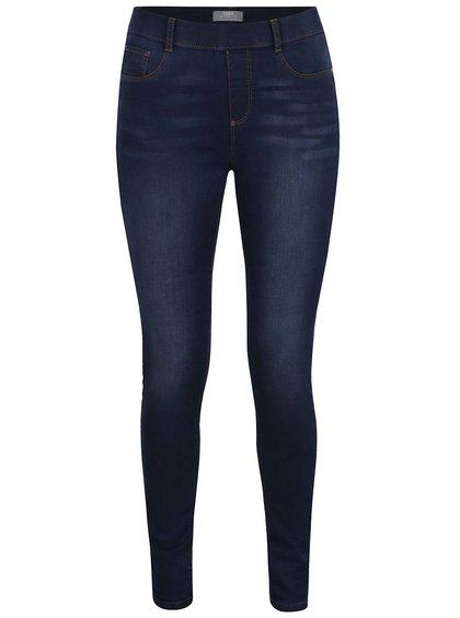 Pantaloni skinny albaștri Dorothy Perkins cu aspect prespălat