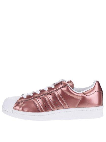 Pantofi sport de culoarea cuprului adidas Originals Superstar