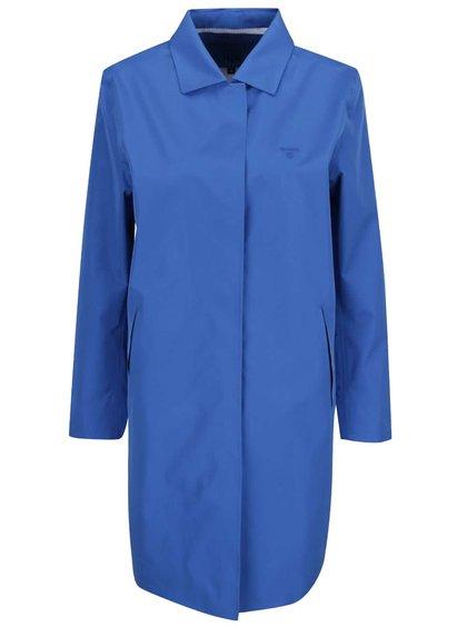 Modrý dámský nepromokavý lehký kabát GANT All Weather