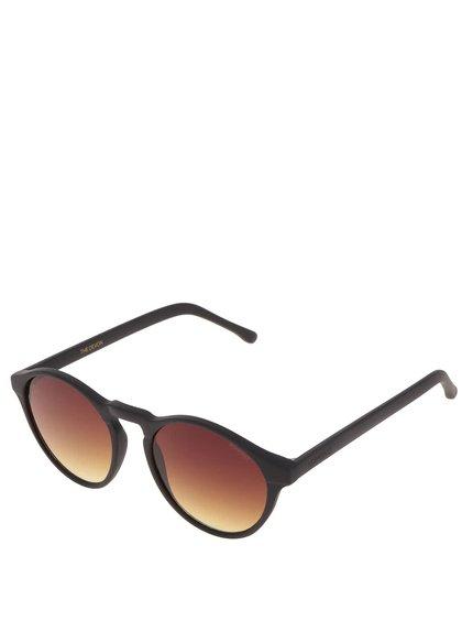 Černé unisex sluneční brýle Komono Devon