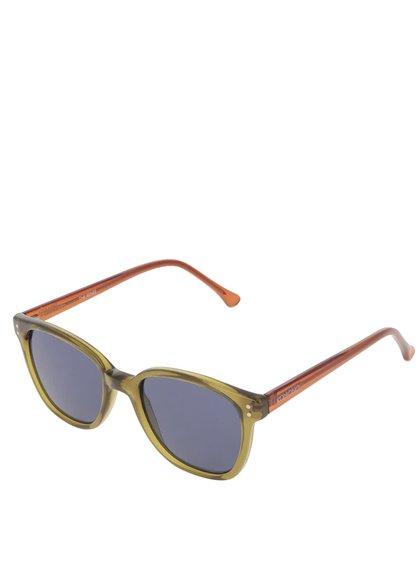 Zelené pánské sluneční brýle Komono Renee