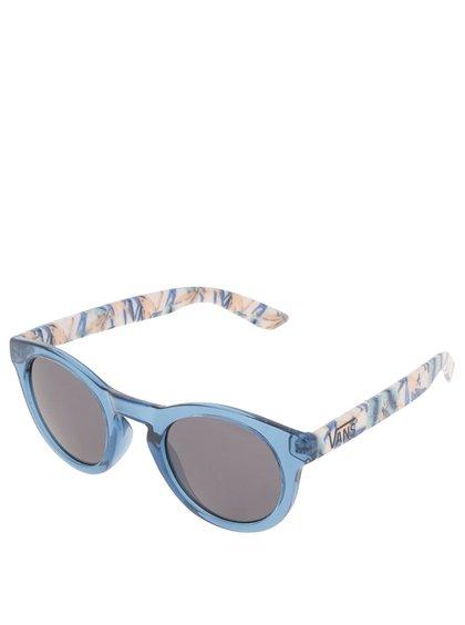 Světle modré dámské sluneční brýle s barevným potiskem Vans Lolligagger