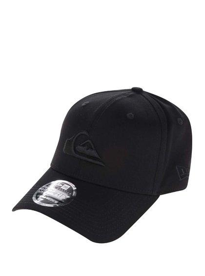 Șapcă neagră Quiksilver cu logo brodat