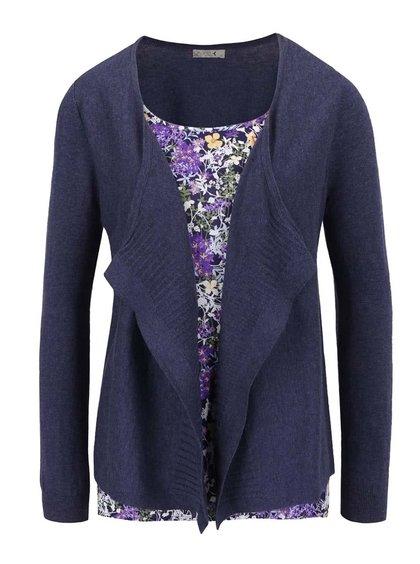Fialovo-modrý dámský top 2v1 M&Co