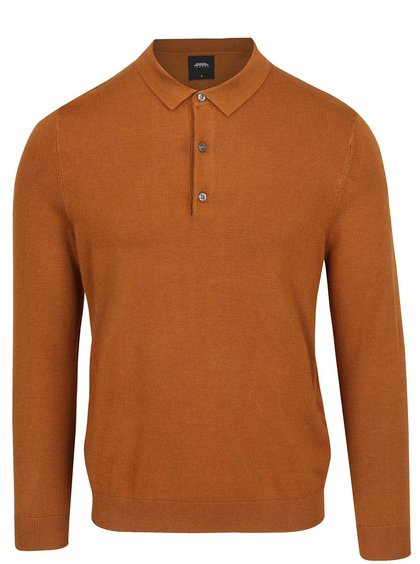 Hnědý lehký svetr Burton Menswear London