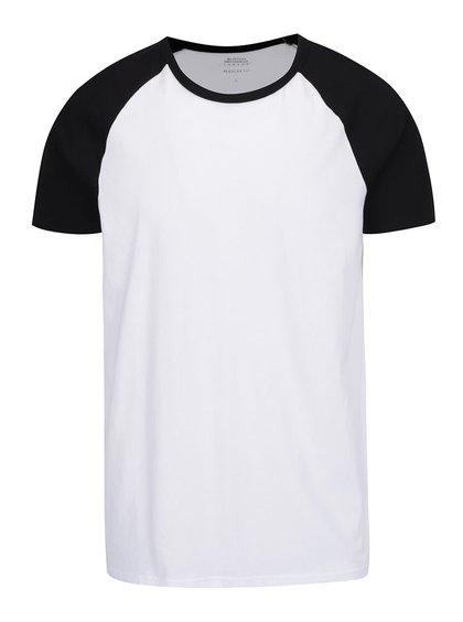 Černo-bílé pánské triko Burton Menswear London