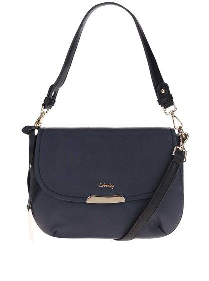 Geantă crossbody bleumarin Liberty by Gionni Isabel din piele