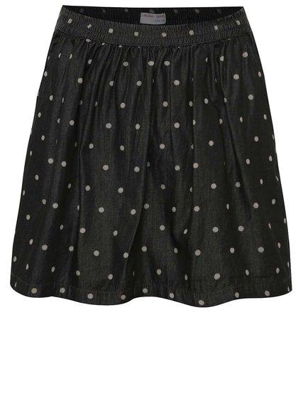 Šedá holčičí sukně s puntíky 5.10.15.
