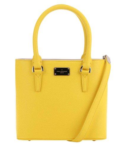 Geantă galbenă Paul's Boutique Becky cu baretă detașabilă