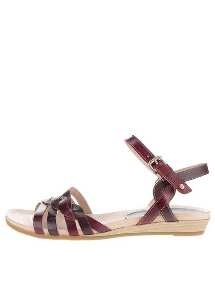 Sandale maro Pikolinos Alcudia din piele