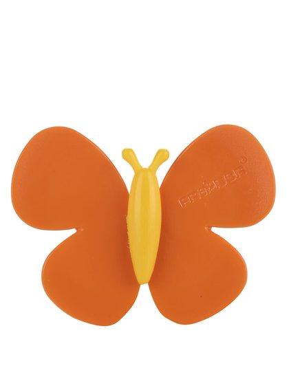 Oranžový motýlek do auta  Motýlek Marta Sicily