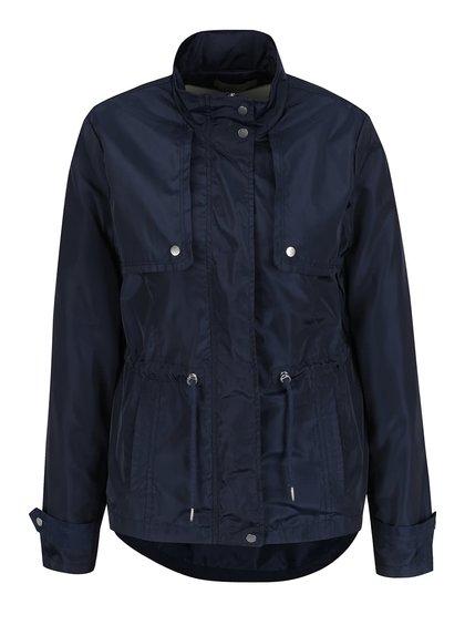 Jachetă albastru închis VERO MODA Isaline cu detalii argintii