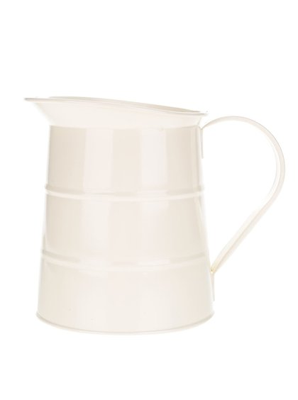 Krémový plechový džbán Kitchen Craft 1,1 l