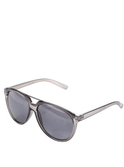 Šedé transparentní sluneční brýle Jack & Jones Trend I.